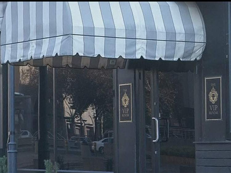 Johannesburg nightclub where alleged brawl occurred