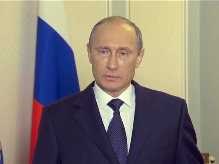 Vladimir Putin statement on MH17
