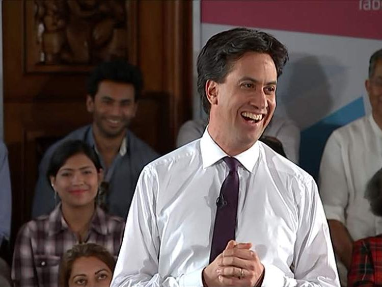 Ed Miliband talks about his political image