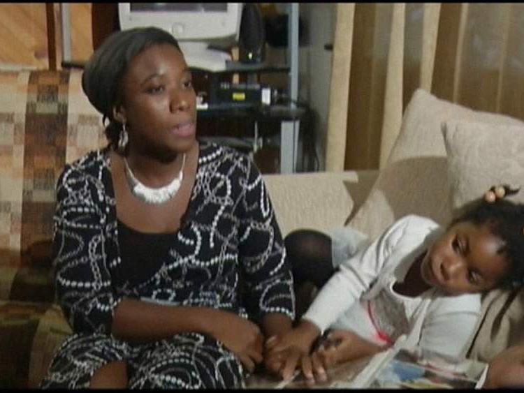 The family of Patrick Sawyer, Nigeria's first Ebola virus victim
