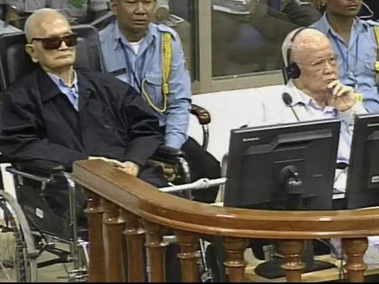 Nuon Chea and Khieu Samphan