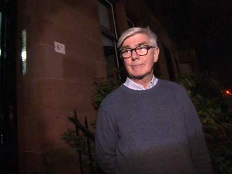 Glasgow resident and retailer David Mullane.