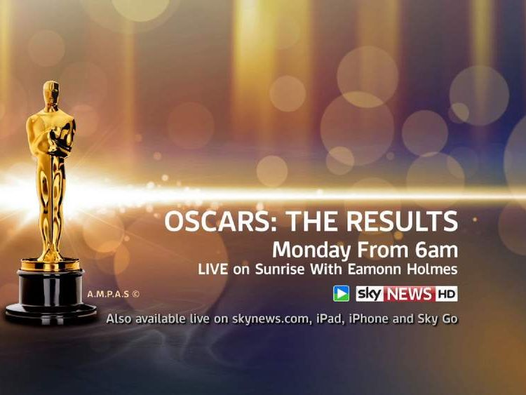 Oscars results promo