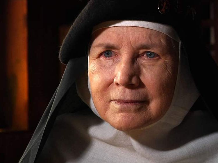 Reverend Mother Dolores Hart, a voter with the Academy Awards