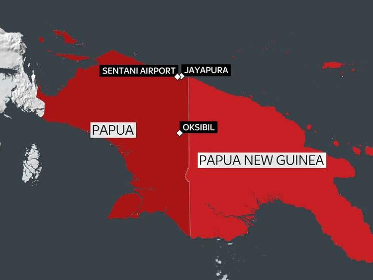 Papua plane disappearance.