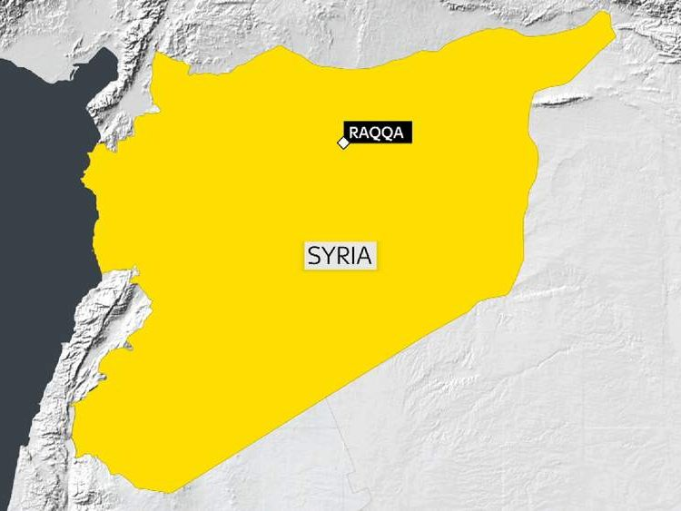 Raqqa in Syria is an Islamic State stronghold