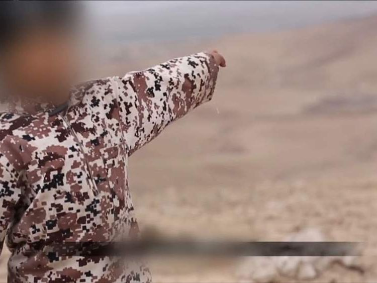 Boy in apparent Islamic State video