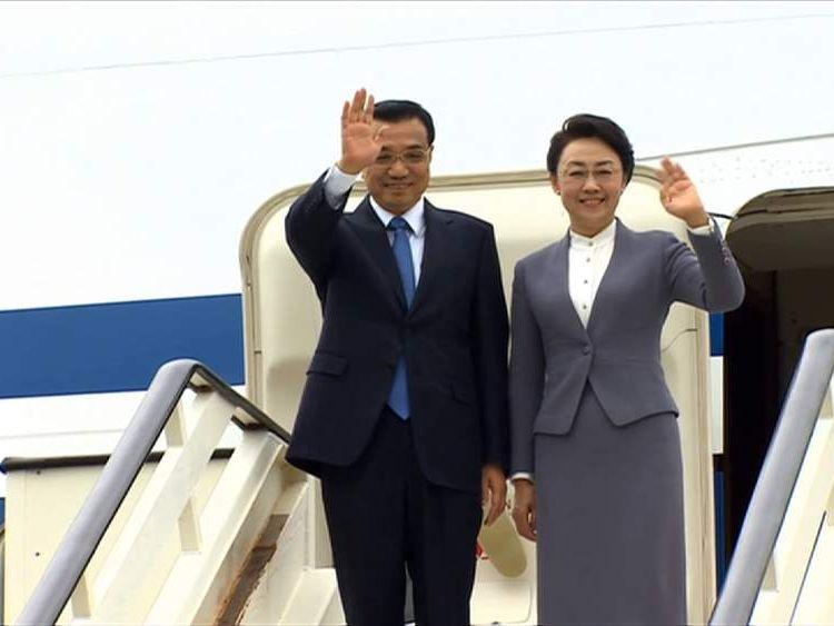 Chinese PM visits UK