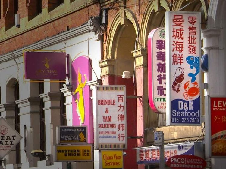 Manchester's China Town