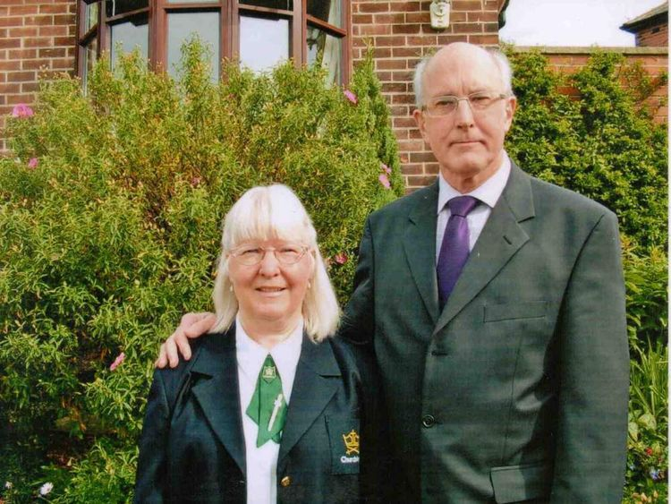 A recent image of Alan and Maureen who both worked for the Church Army organisation. http://www.churcharmy.org.uk/