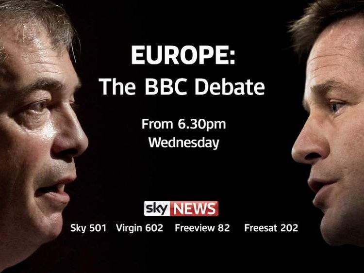 Promo for TV debate