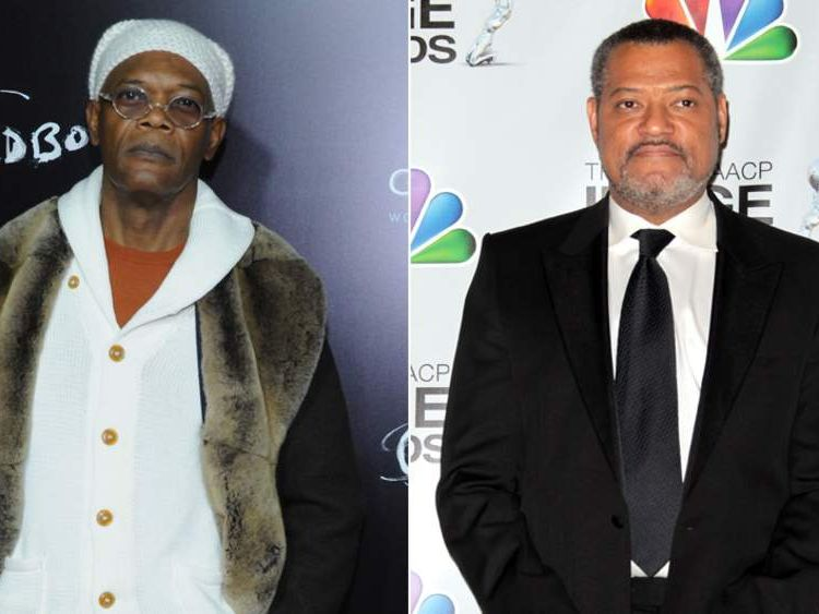 Samuel L Jackson and Laurence Fishburne