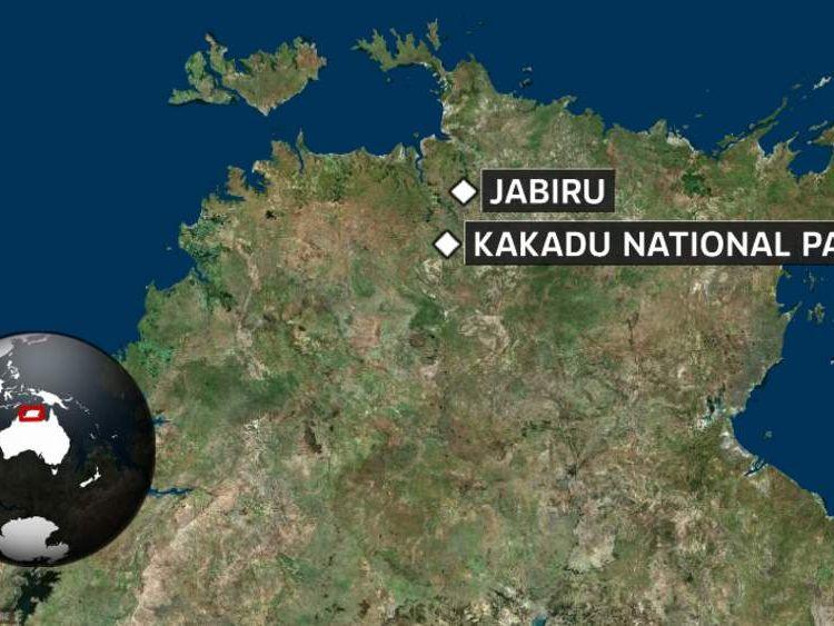 Crocodile attack in Kakadu National Park