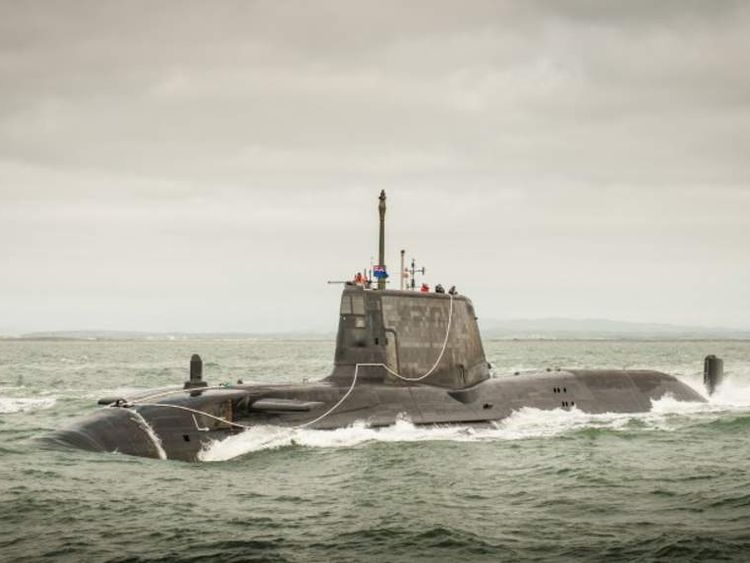 The British Navy's HMS Ambush