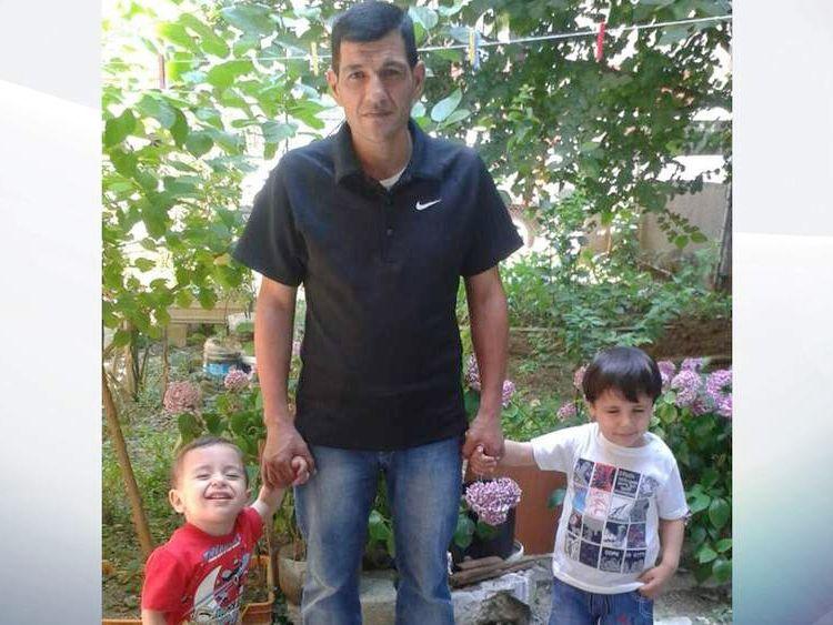 Abdullah Kurdi, 40, father of Syrian boys Alan, three, and Galip, five