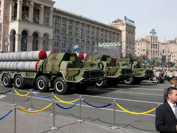 Ukraine Independence Day military parade