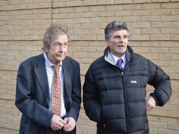 John Rogers (left) and Robin Bereza