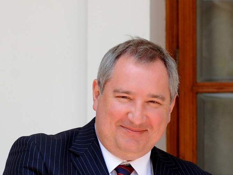 Russian Deputy Prime Minister Dmitry Rog