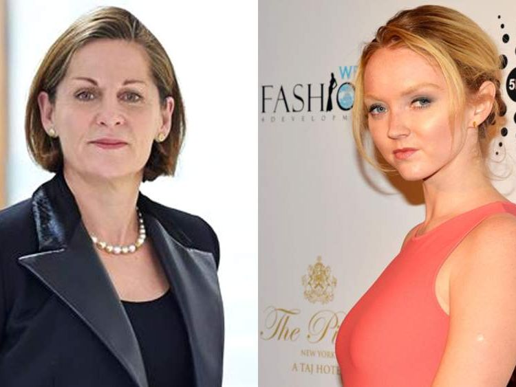 Dorothy Thompson and Lily Cole