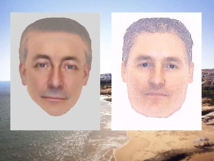 E-fits of suspect police want to question