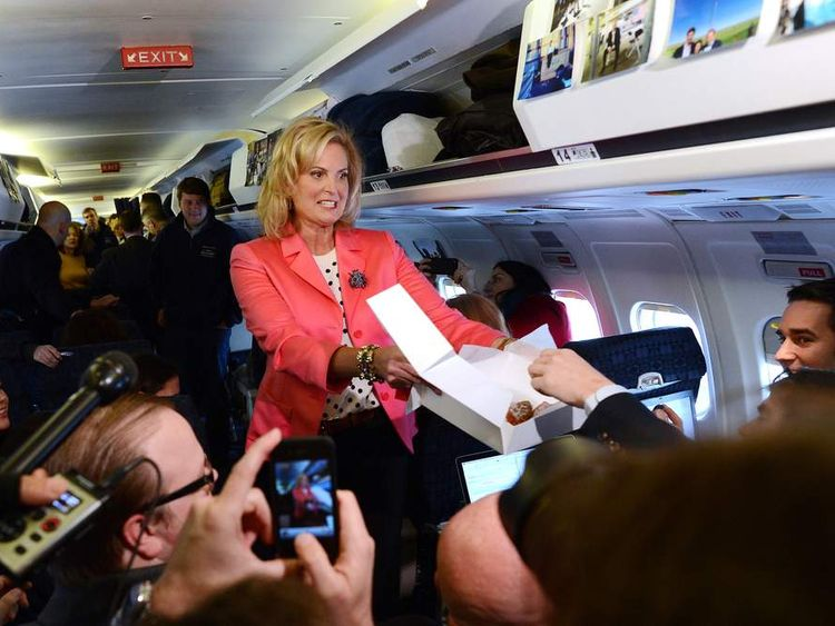 Ann Romney has been on the weekend trail with her husband