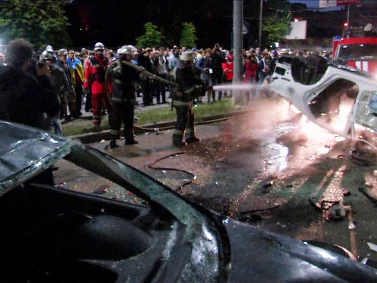 Attack on the Russian Embassy in Kiev