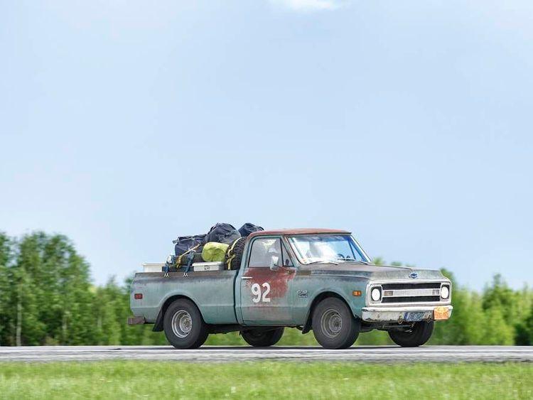 Emma Wilkinson vintage rally car