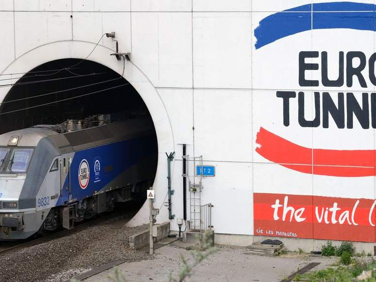 FRANCE-BRITAIN-TRANSPORT-CONSTRUCTION-TUNNEL-COMPANIES