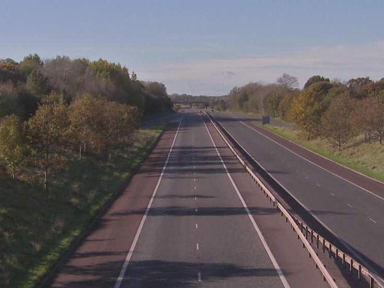 M1 motorway in Northern Ireland
