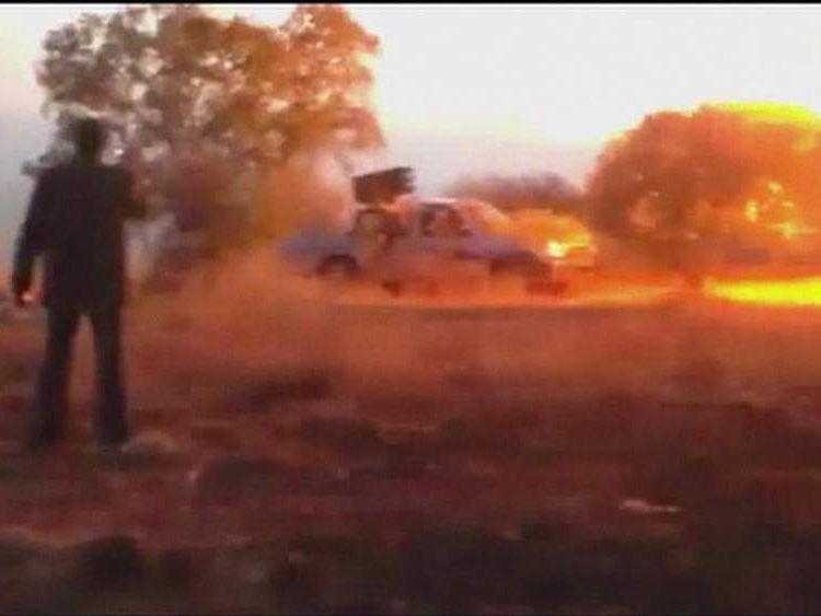 Syria Jet Attack