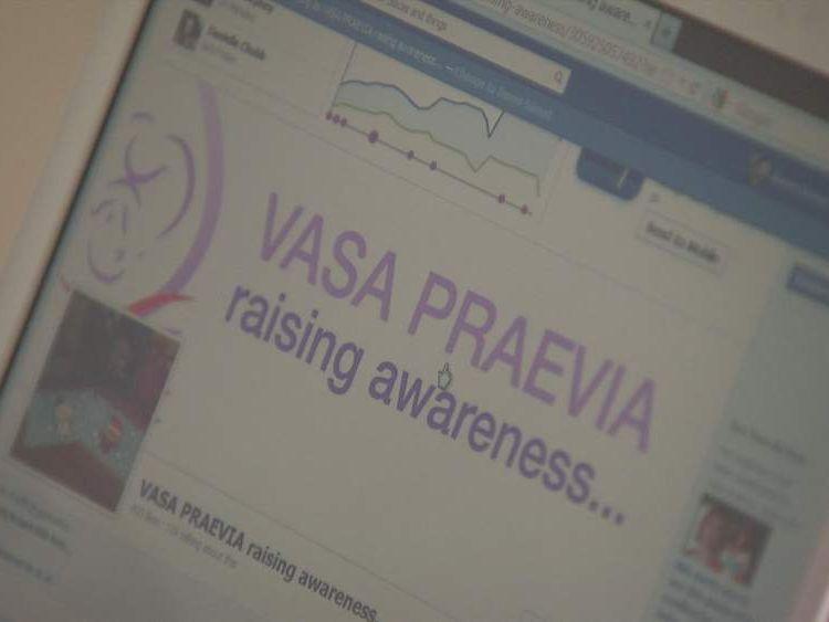 Vasa Praevia Facebook page