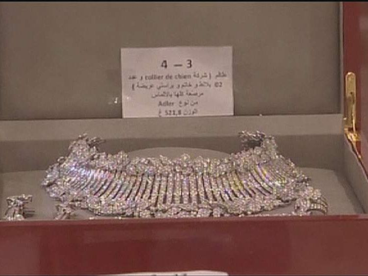 Ben Ali's possessions auctioned