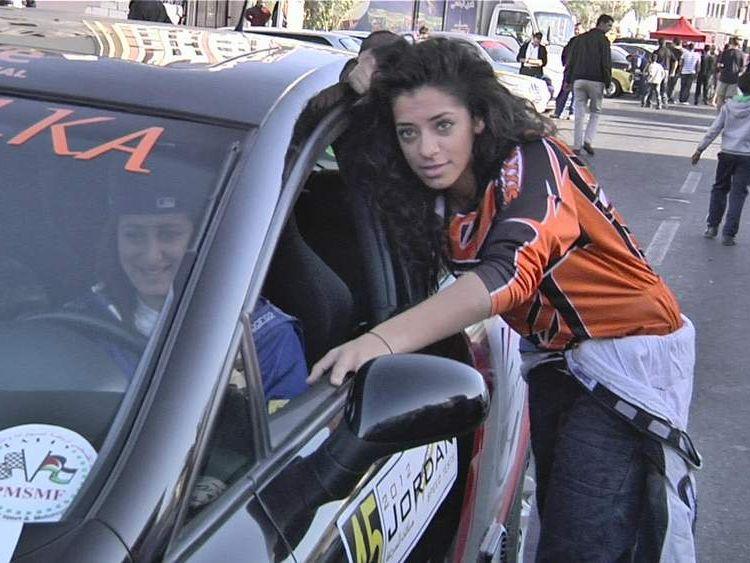 Palestinian Speed Sisters (L-R) Mara and Noor
