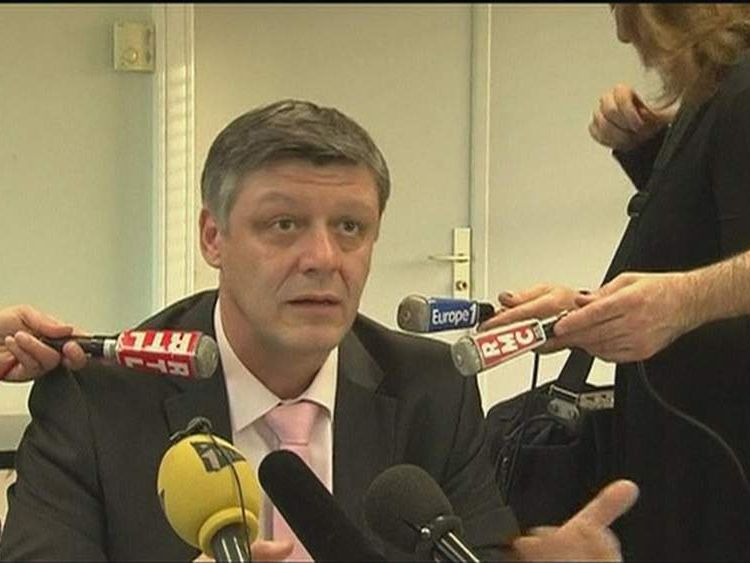 Nimes deputy prosecutor Stephane Bertrand