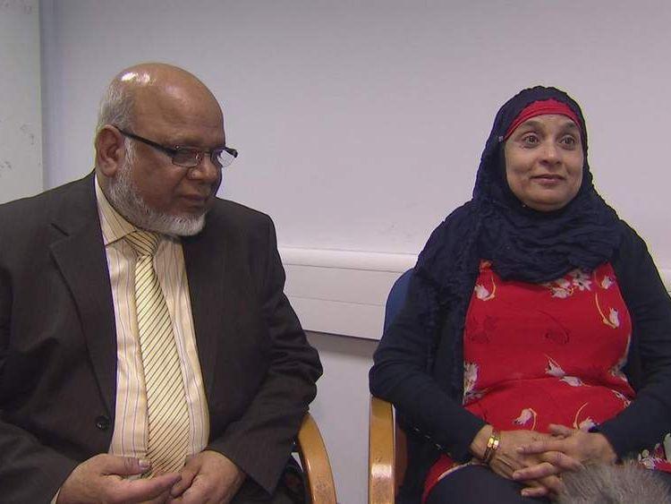 Aamir Siddiqi's parents