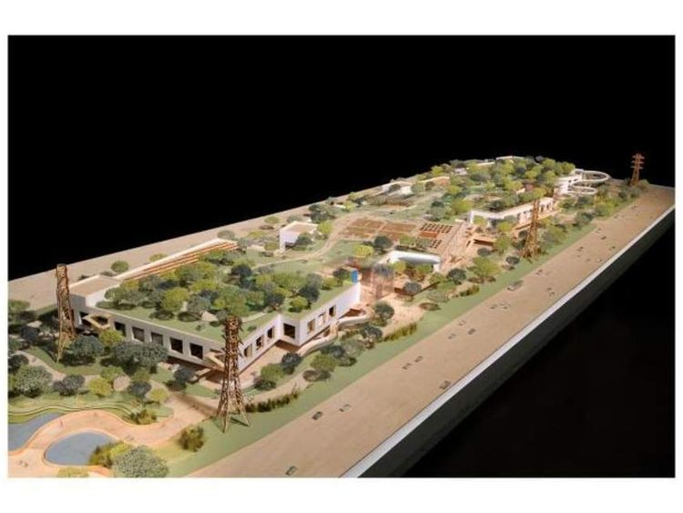 Facebook campus by Frank Gehry