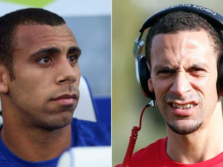 Andon and Rio Ferdinand.