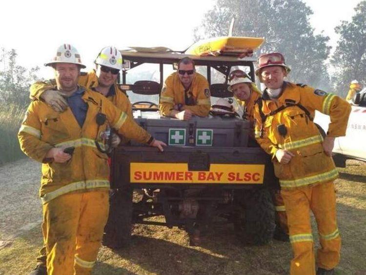 Summer Bay fire crew