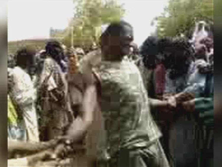 Public flogging Timbuktu