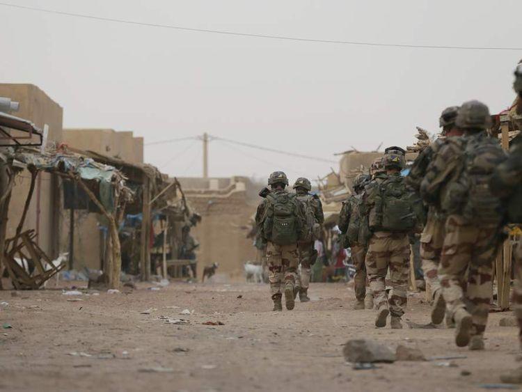 French troops in Kidal in July