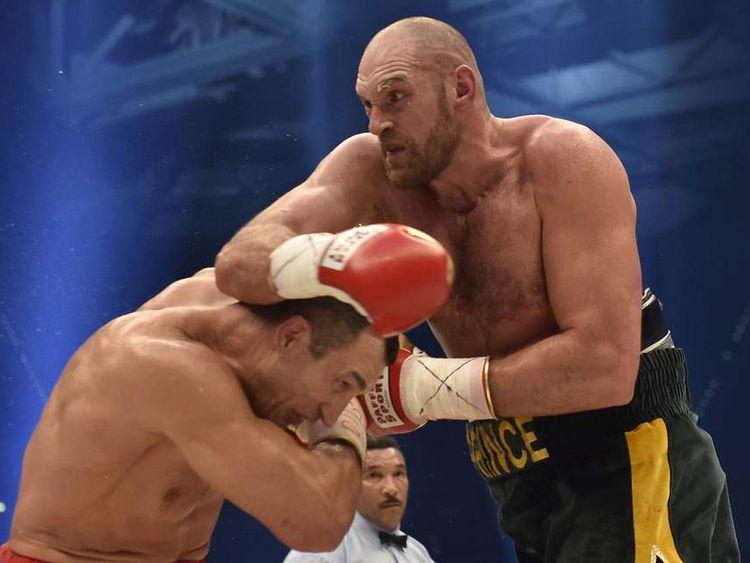 Tyson Fury ends Wladimir Klitschko's heavyweight reign