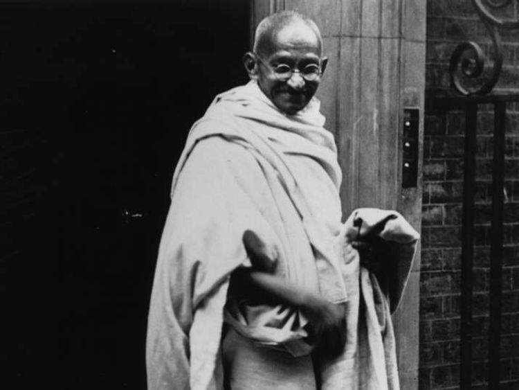 Mahatma Gandhi At No 10