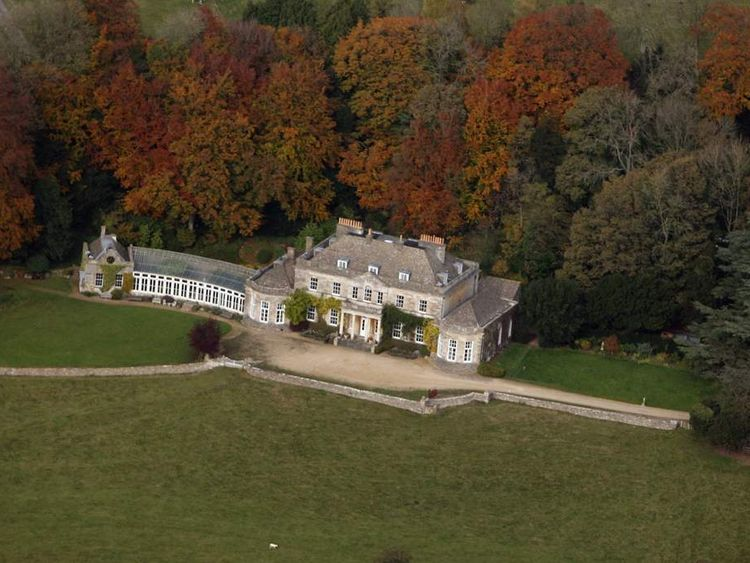 The grounds of Gatcombe Park, the private residence of Princess Anne