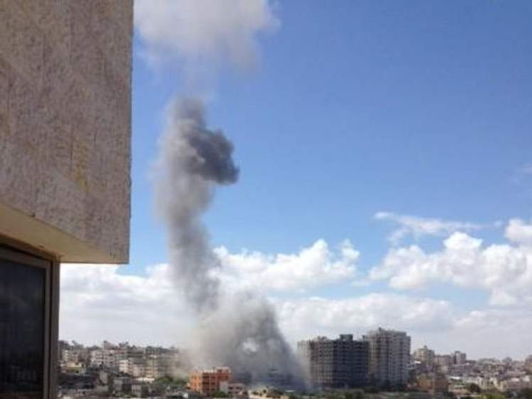 Israel launches ground assault.