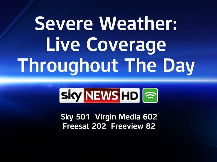 Severe Weather: Live Coverage Throughout The Day