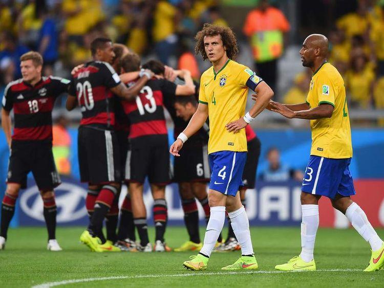 Germany Hammer Brazil 7-1 In World Cup Semi-Final