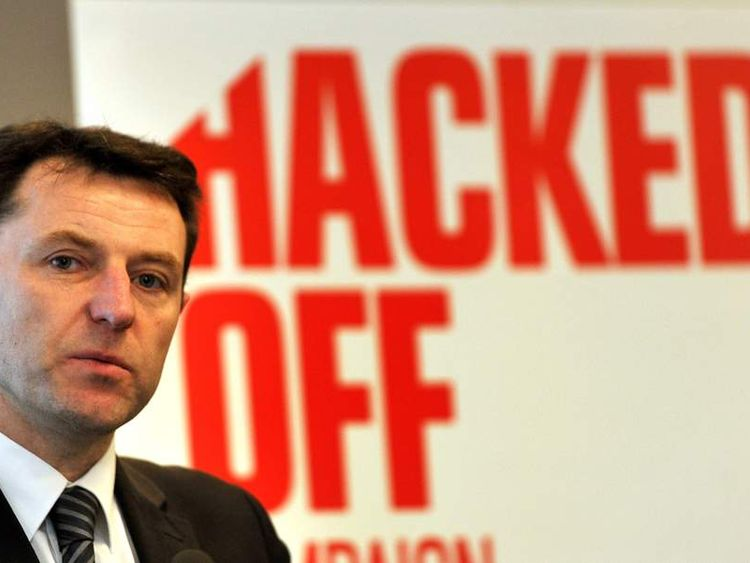 Gerry McCann at the Hacked Off press conference