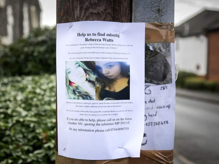 Police Step-up Search For Missing Bristol Teenager