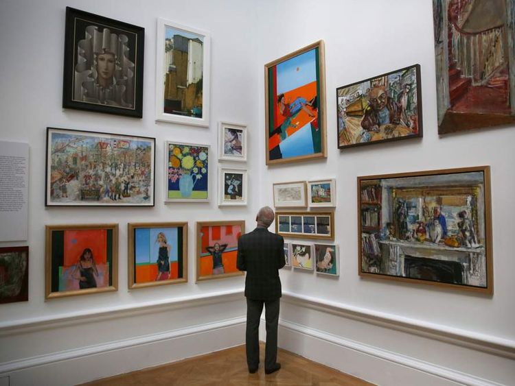 Summer Exhibition Launch At The Royal Academy