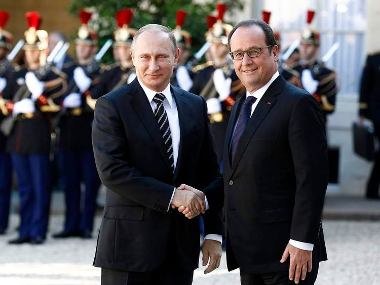 "Elysee Palace Hosts the ""Normandy Format"" Summit In Paris"